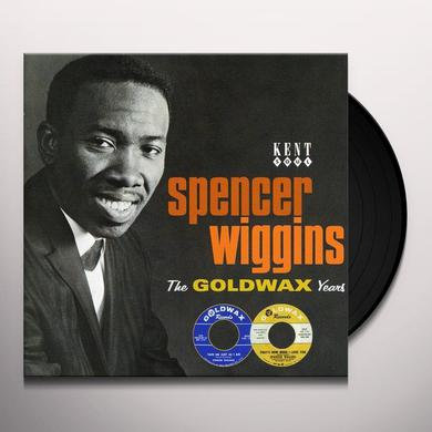 Spencer Wiggins GOLDWAX YEARS Vinyl Record