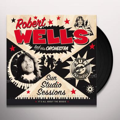 Robert Wells SUN STUIDO SESSIONS Vinyl Record