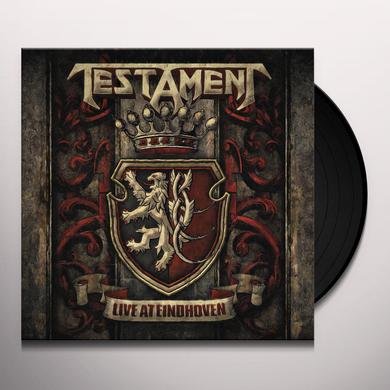 Testament LIVE AT EINDHOVEN Vinyl Record