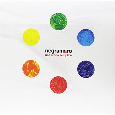 Negramaro UNA STORIA SEMPLICE Vinyl Record