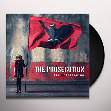 PROSECUTION UNFOLLOWING Vinyl Record