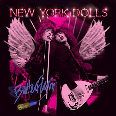 New York Dolls BUTTERFLYIN' Vinyl Record