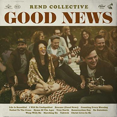 Rend Collective GOOD NEWS Vinyl Record