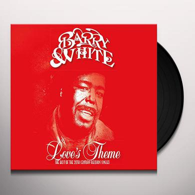 Barry White LOVE'S THEME: THE BEST OF THE 20TH CENTURY RECORDS Vinyl Record