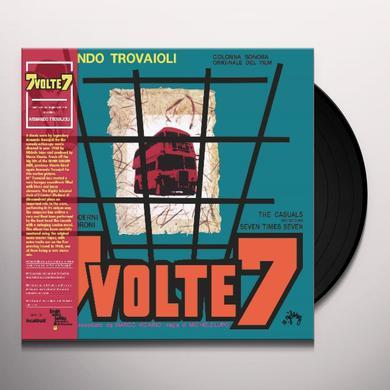 Armando Trovajoli 7 VOLTE 7: COLONNA SONORA / O.S.T. Vinyl Record