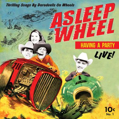 Asleep At The Wheel HAVIN' A PARTY LIVE Vinyl Record