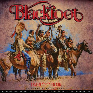 Blackfoot TRAIN TRAIN - SOUTHERN ROCK LIVE! Vinyl Record