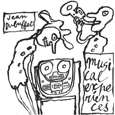 Jean Dubuffet MUSICAL EXPERIENCES Vinyl Record