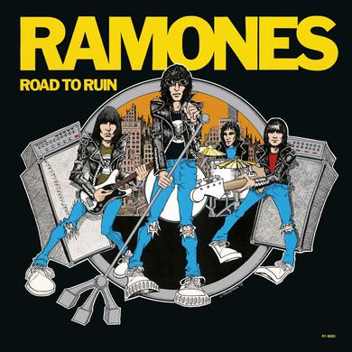 Ramones ROAD TO RUIN Vinyl Record