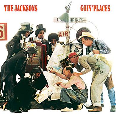 Jacksons GOIN PLACES Vinyl Record