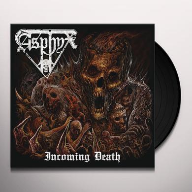 Asphyx INCOMING DEATH Vinyl Record