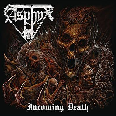 Asphyx INCOMING DEATH Vinyl Record