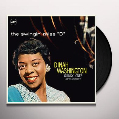 Dinah Washington SWINGIN MISS D (WITH QUINCY JONES & HIS ORCHESTRA) Vinyl Record