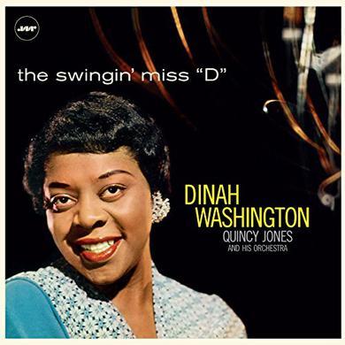 Dinah Washington SWINGIN MISS D (WITH QUINCY JONES & HIS ORCHESTRA) Vinyl Record