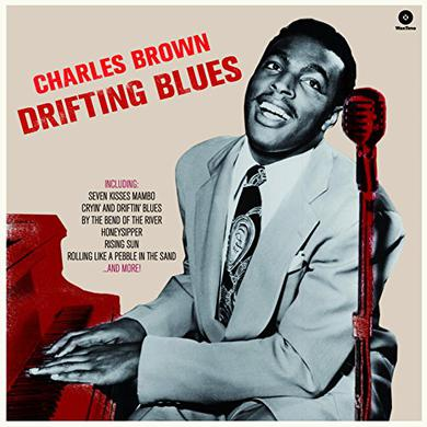 Charles Brown DRIFTING BLUES (BONUS TRACKS) Vinyl Record - 180 Gram Pressing, Spain Release
