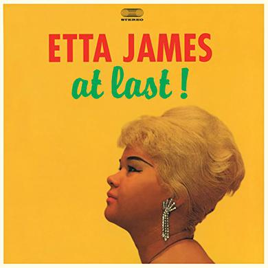 Etta James AT LAST  (BONUS TRACKS) Vinyl Record - Blue Vinyl, Colored Vinyl, Limited Edition, 180 Gram Pressing