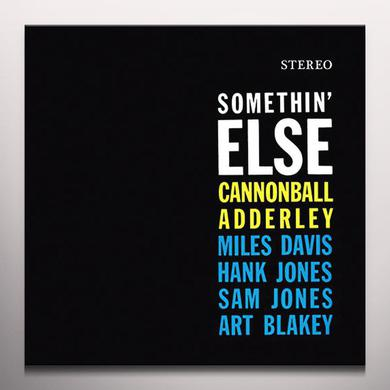 Cannonball Adderley SOMETHIN ELSE (BONUS TRACK) Vinyl Record - Colored Vinyl, Limited Edition, 180 Gram Pressing