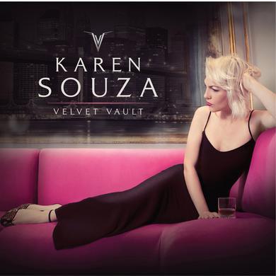 Karen Souza VELVET VAULT Vinyl Record
