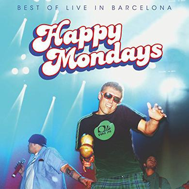Happy Mondays BEST OF: LIVE IN BARCELONA Vinyl Record