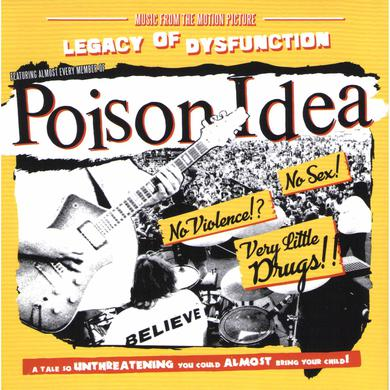 Poison Idea LEGACY OF DISFUNCTION Vinyl Record