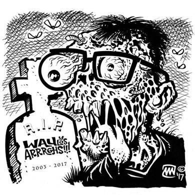 Wau Y Los Arrrghs EL MANANERO Vinyl Record