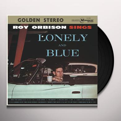 Roy Orbison SINGS LONELY & BLUE Vinyl Record