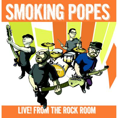Smoking Popes LIVE! FROM THE ROCK ROOM Vinyl Record