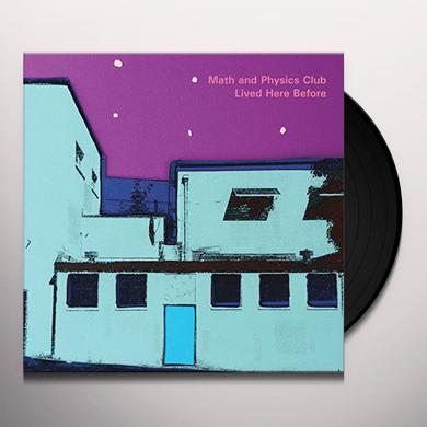 Math & Physics Club LIVED HERE BEFORE Vinyl Record