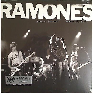 Ramones LIVE AT THE ROXY 8/12/76 Vinyl Record