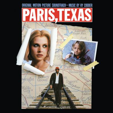 Ry Cooder PARIS TEXAS - ORIGINAL MOTION PICTURE SOUNDTRACK Vinyl Record