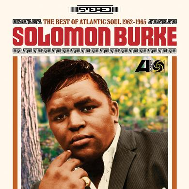 Solomon Burke BEST OF ATLANTIC SOUL 1962-1965 Vinyl Record