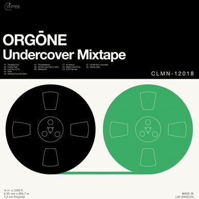 Orgone UNDERCOVER MIXTAPE (GREEN VINYL) Vinyl Record