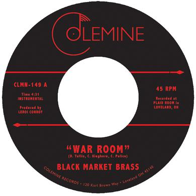 Black Market Brass WAR ROOM / INTO THE THICK Vinyl Record
