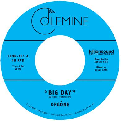Orgone BIG DAY / HOUND DOGS Vinyl Record