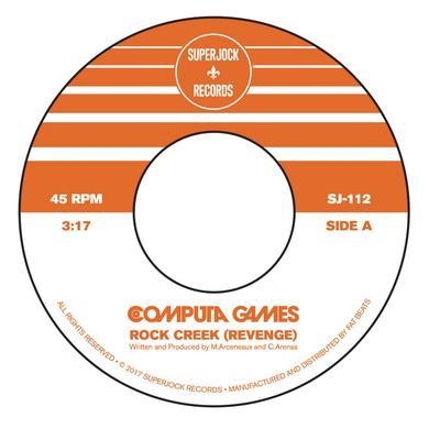 COMPUTA GAMES ROCK CREEK (REVENGE) / APACHE 3000 Vinyl Record