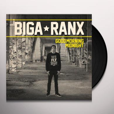 Biga Ranx GOOD MORNING MIDNIGHT Vinyl Record