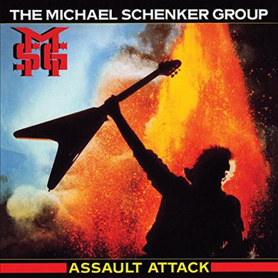 Michael Schenker ASSAULT ATTACK Vinyl Record