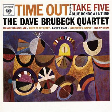 Dave Brubeck TIME OUT (BONUS TRACK) Vinyl Record - Colored Vinyl, Limited Edition, 180 Gram Pressing, Orange Vinyl