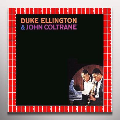 Duke Ellington / John Coltrane DUKE ELLINGTON & JOHN COLTRANE Vinyl Record - Colored Vinyl, Limited Edition, 180 Gram Pressing