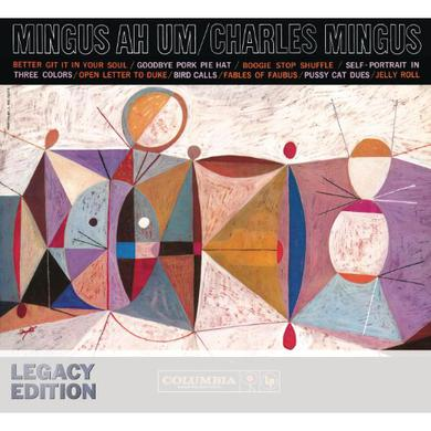 Charles Mingus MINGUS AH UM Vinyl Record - Blue Vinyl, Colored Vinyl, Limited Edition, 180 Gram Pressing, Remastered