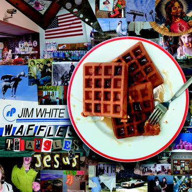 Jim White WAFFLES TRIANGLES & JESUS Vinyl Record