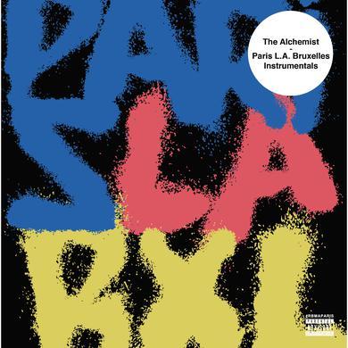 Alchemist PARIS L.A. BRUXELLES INSTRUMENTALS Vinyl Record