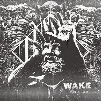 Wake MISERY RITES Vinyl Record
