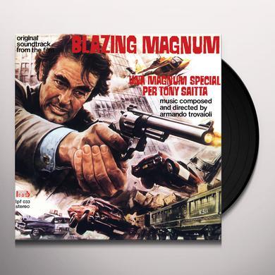 Armando Trovajoli BLAZING MAGNUM: STRANGE SHADOWS IN AN EMPTY ROOM Vinyl Record