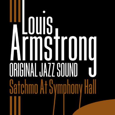 Louis Armstrong SATCHMO AT SYMPHONY HALL Vinyl Record