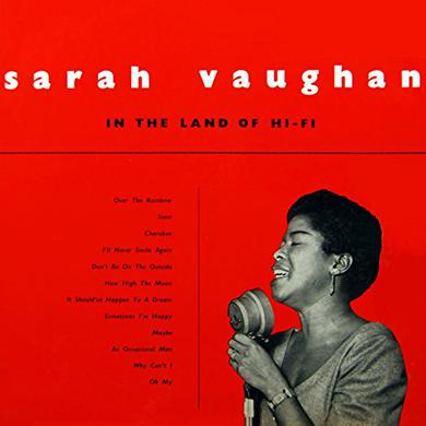 Sarah Vaughan IN THE LAND OF HI-FI Vinyl Record
