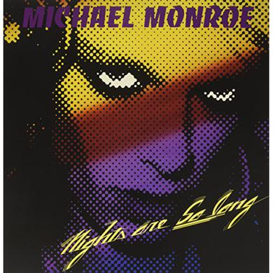 Michael Monroe NIGHTS ARE SO LONG Vinyl Record