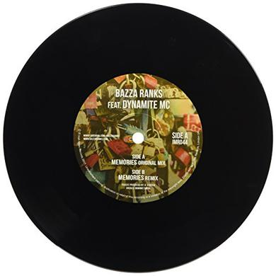 Bazza Ranks MEMORIES Vinyl Record