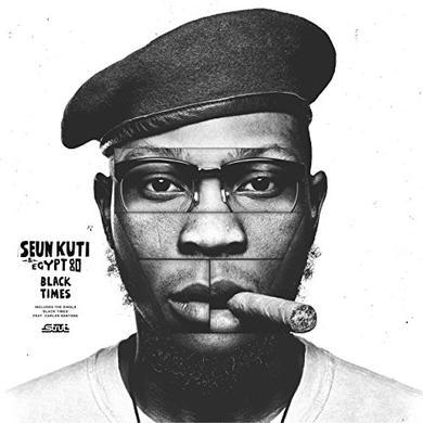 Seun Kuti & Egypt 80 BLACK TIMES Vinyl Record