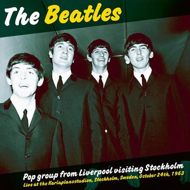 The Beatles POP GROUP FROM LIVERPOOL VISITING STOCKHOLM Vinyl Record